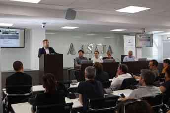 Foto de Presentación de la asociación Aproinsecta