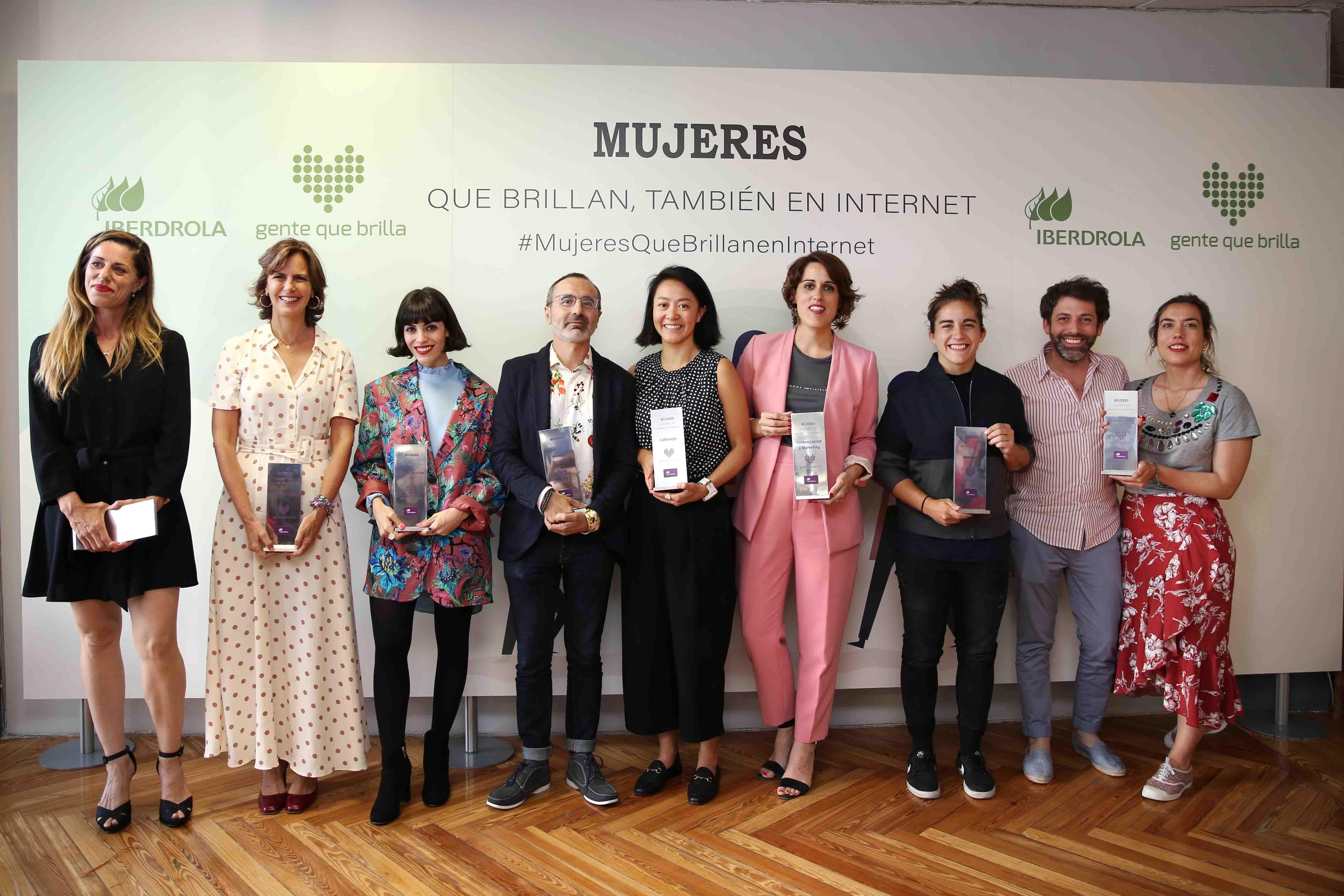 Foto de Premios_Mujeres que brillan, también en Internet