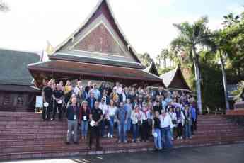 Foto de Loro Parque recibe la visita de los participantes del