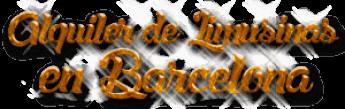 Alquiler de Limusinas en Barcelona
