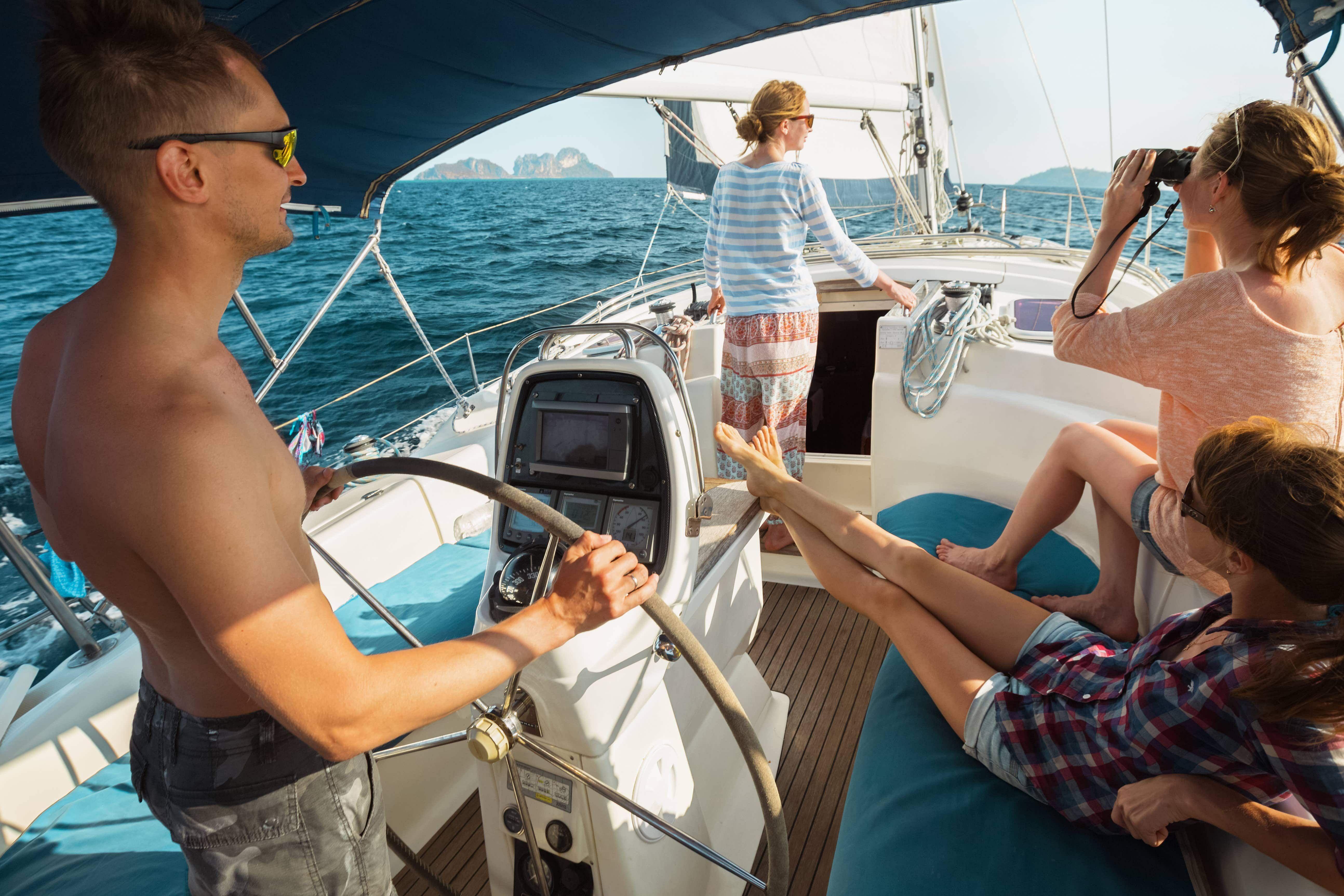 Sailwiz, la startup que ofrece vacaciones para navegar con patrones de barcos de todo el mundo