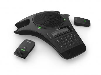 Snom C520-WiMi (de Wireless Microphone): Equipado con un micrófono integrado y dos micrófonos inalámbricos (DECT)