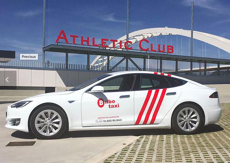 Class Taxi Bilbao, confort sobre ruedas en el Tesla S75 D