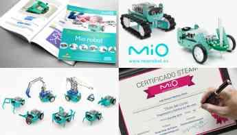 Manual y Certificaciones para profesores con Mio robot