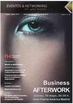 Portada revista Eventos y Networking