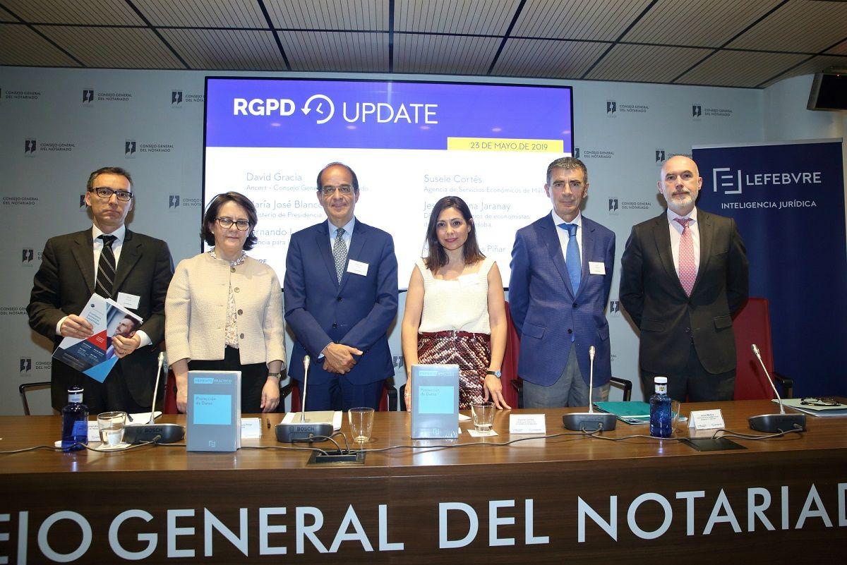Foto de Jornada Lefebvre DPOs_Mesa sector público