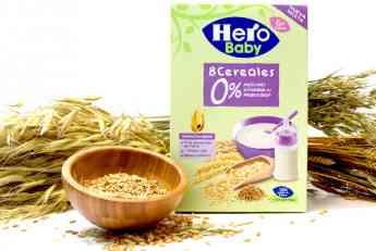 HERO BABY CEREALES 0% AZUCARES AÑADIDOS NI PRODUCIDOS