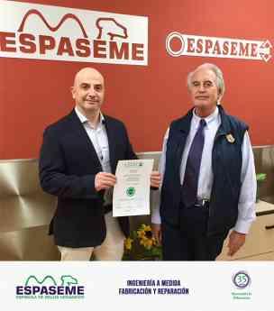 ESPASEME SA obté el segell de norma de qualitat empresarial CEDEC i reafirma així la seva col·laboració