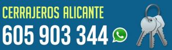 Cerrajeros Alicante AC