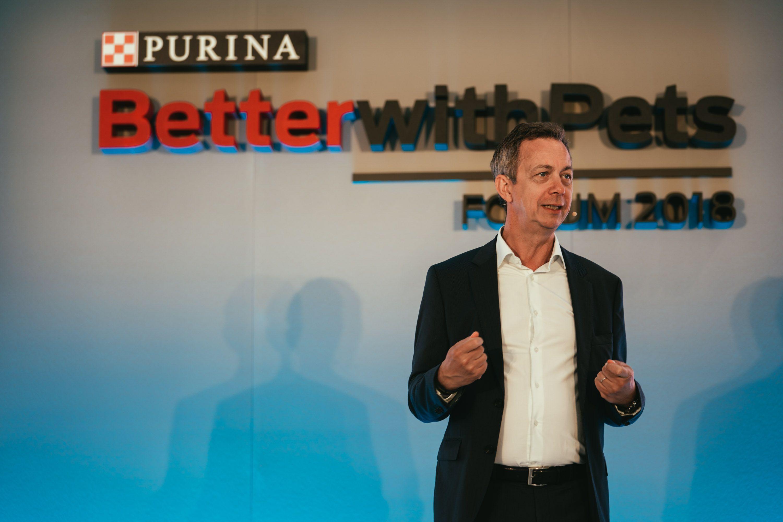 Foto de Bernard Meunier, CEO de Nestlé Purina PetCare Europa, Medio
