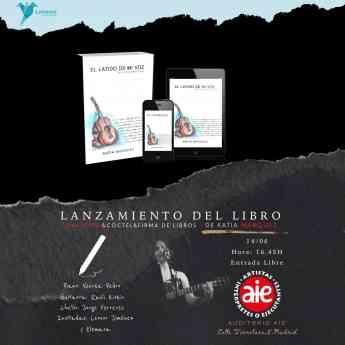 Cartel de presentación del libro