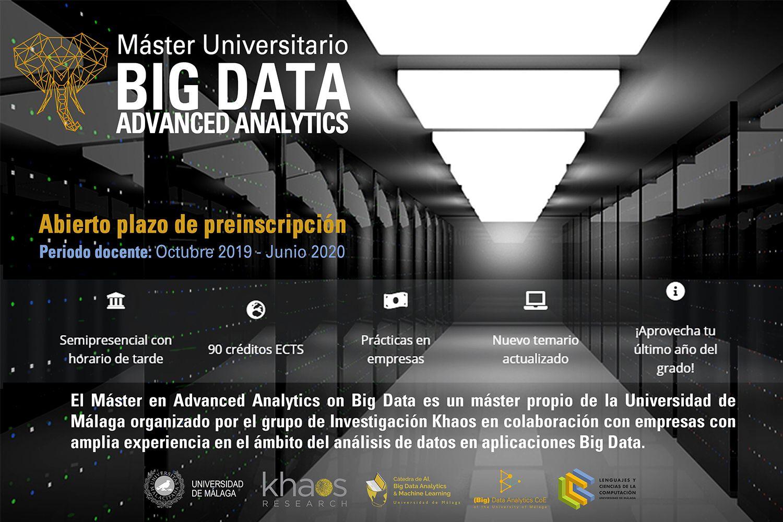Foto de Máster Big Data Málaga