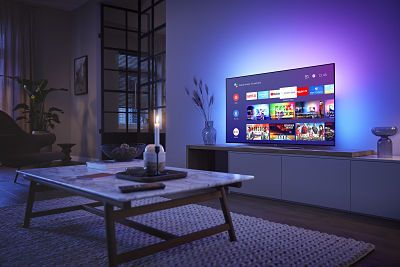 Fotografia TV Philips OLED Ambilight