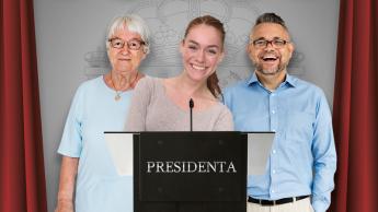 En mi primer día como presidenta...