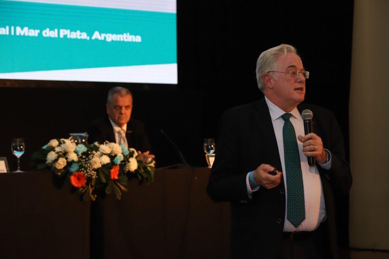 Foto de  Momento de la intervención de Miguel Ángel Gastelurrutia,