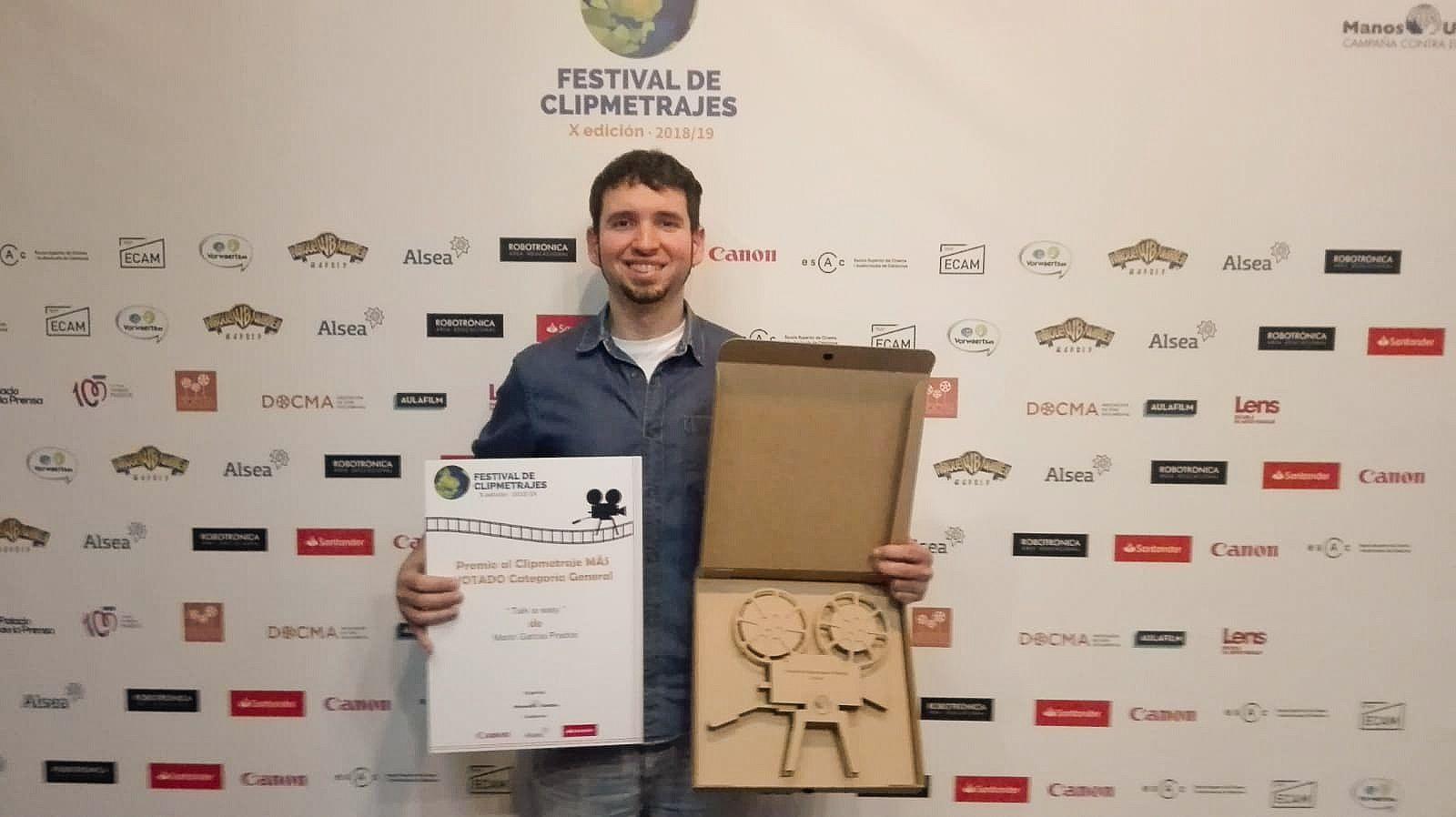 Foto de Entrega de premios Festival Manos Unidas 2019