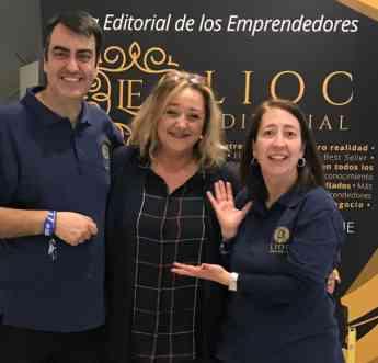 María Jesús Carballa Ganadora del Sorteo de Lioc Editorial en la Segunda edición del SED 2019