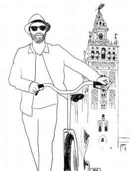 Rafa, el primer guía virtual de Sevilla