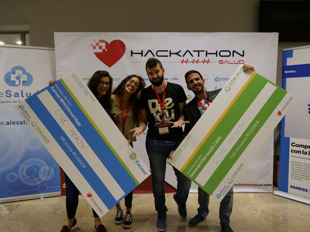 Un asistente virtual de voz para pacientes ancianos, gran vencedor en el Hackathon de Salud