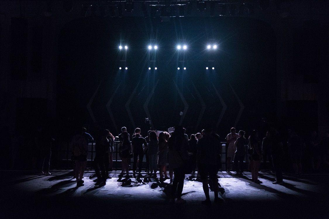 Foto de actuación del método
