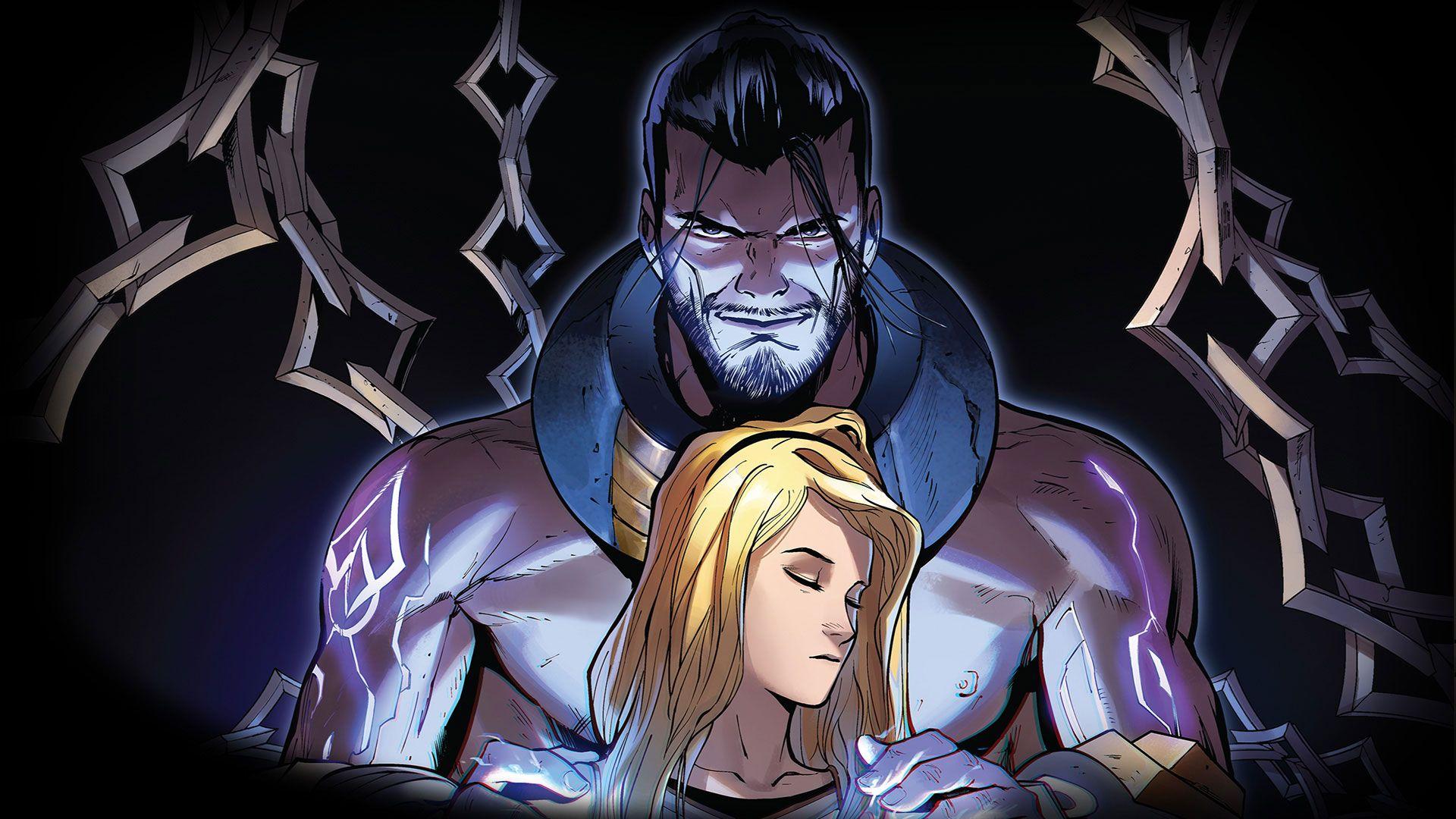 Foto de Lux, segundo cómic sobre la Dama Luminosa de Riot Games y