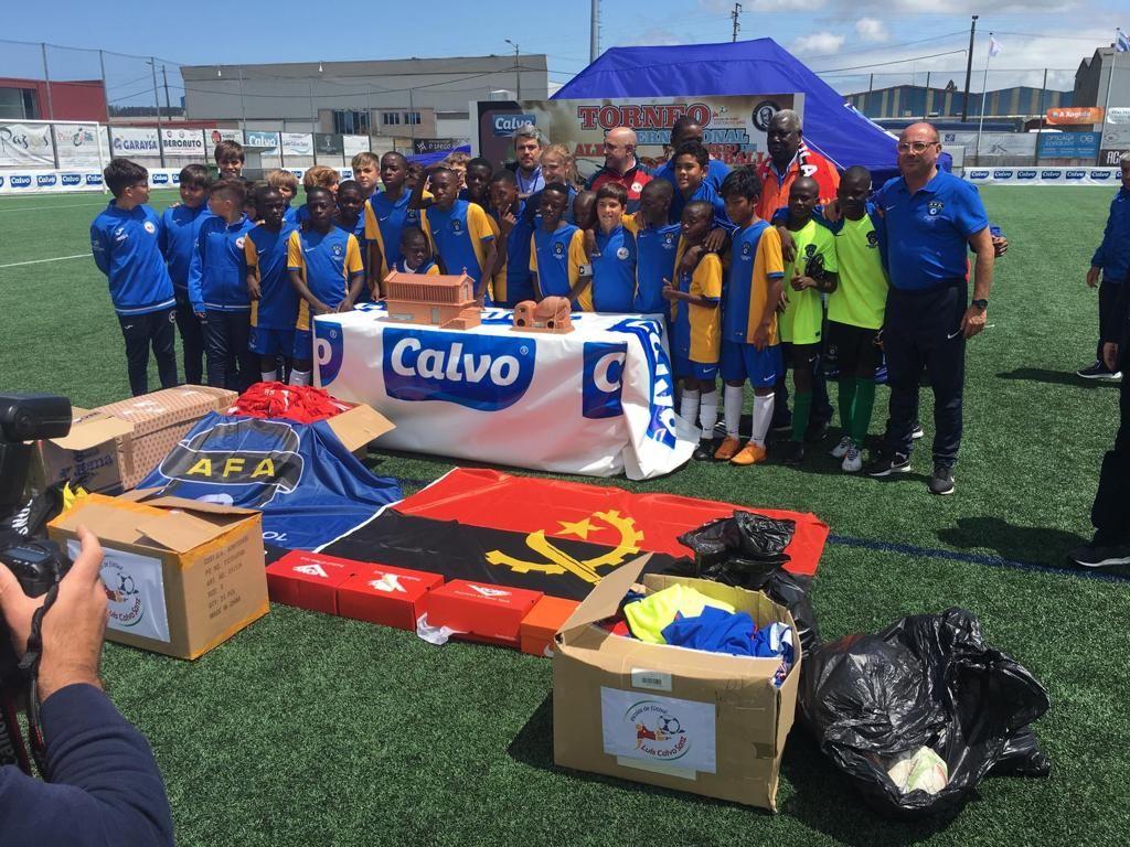 Fotografia Equipo infantil de fútbol-7 de la AFA