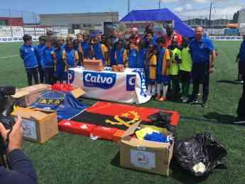 Equipo infantil de fútbol-7 de la AFA