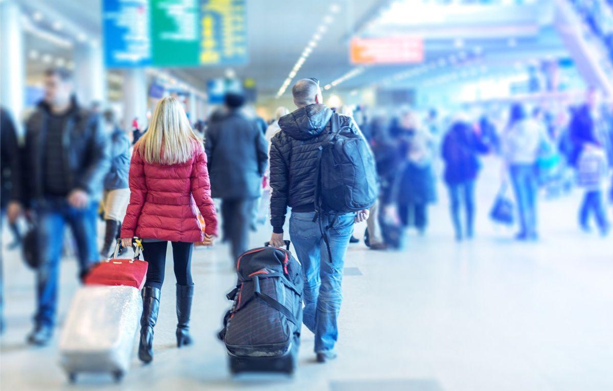 Foto de Personas en el aeropuerto