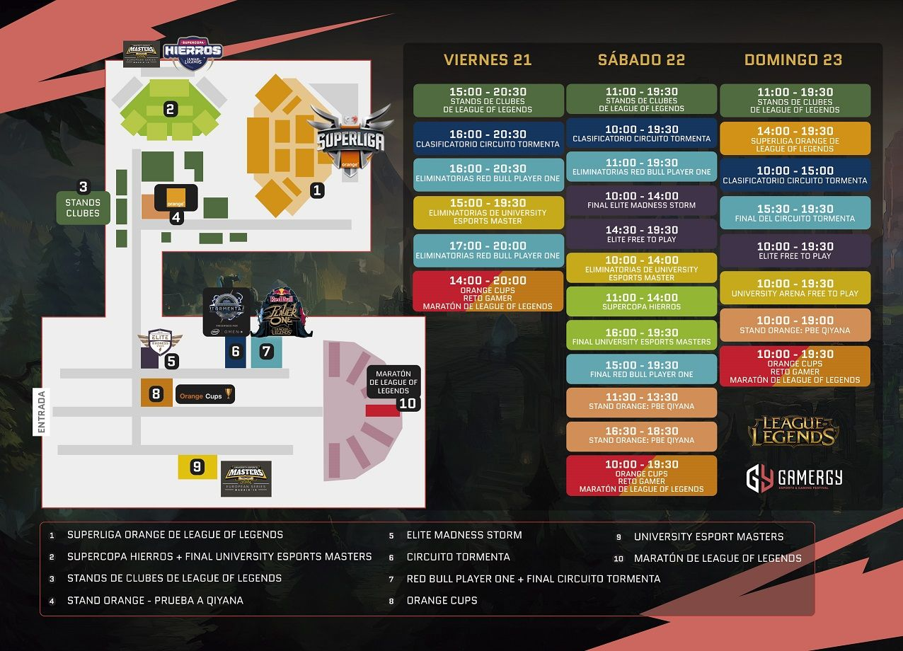 League of Legends toma protagonismo en Gamergy
