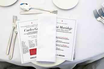 Foto de Menú diseñado especialmente para maridar con Stella Artois