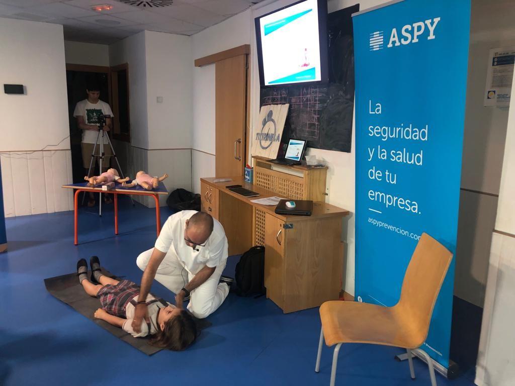 Foto de Formación primeros auxilios