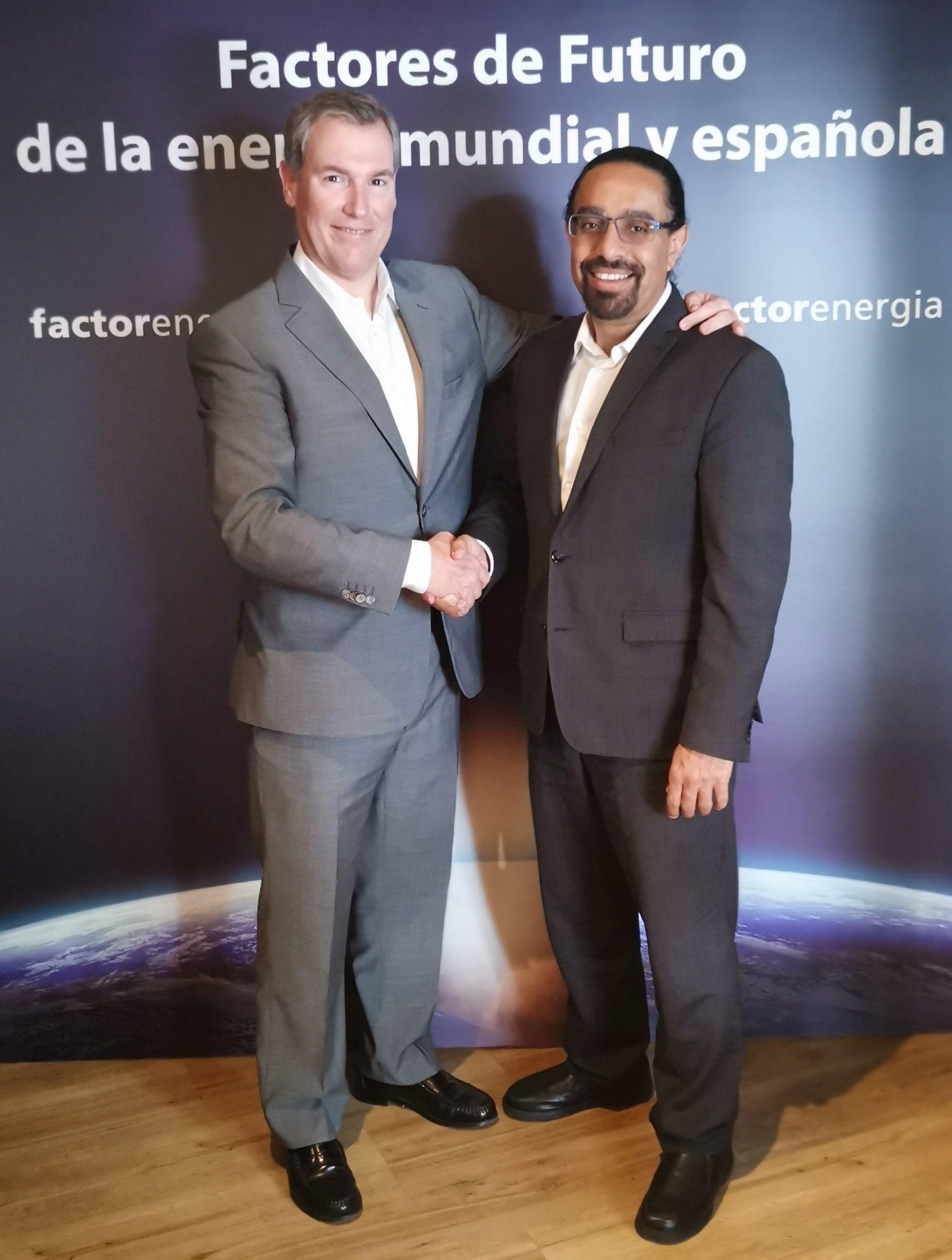 Foto de El fundador y CEO de Factorenergia, Emilio Rousaud, junto con