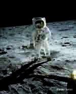 Foto de El 20 de julio de 1969  el hombre pisó la luna por primera