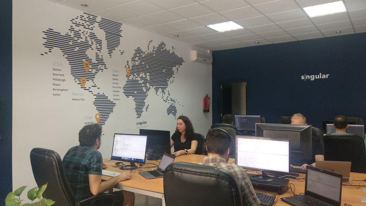Foto de Oficina de Sngular en Córdoba.
