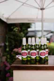 Foto de Stella Artois, cerveza lager elaborada inicialmente en