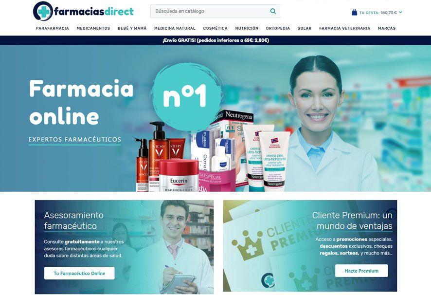 Fotografia farmaciasdirect.com