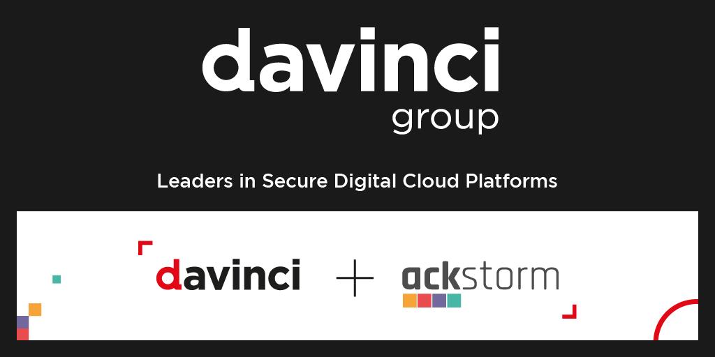 Ackstorm y Davinci TI se fusionan para crear Davinci Group