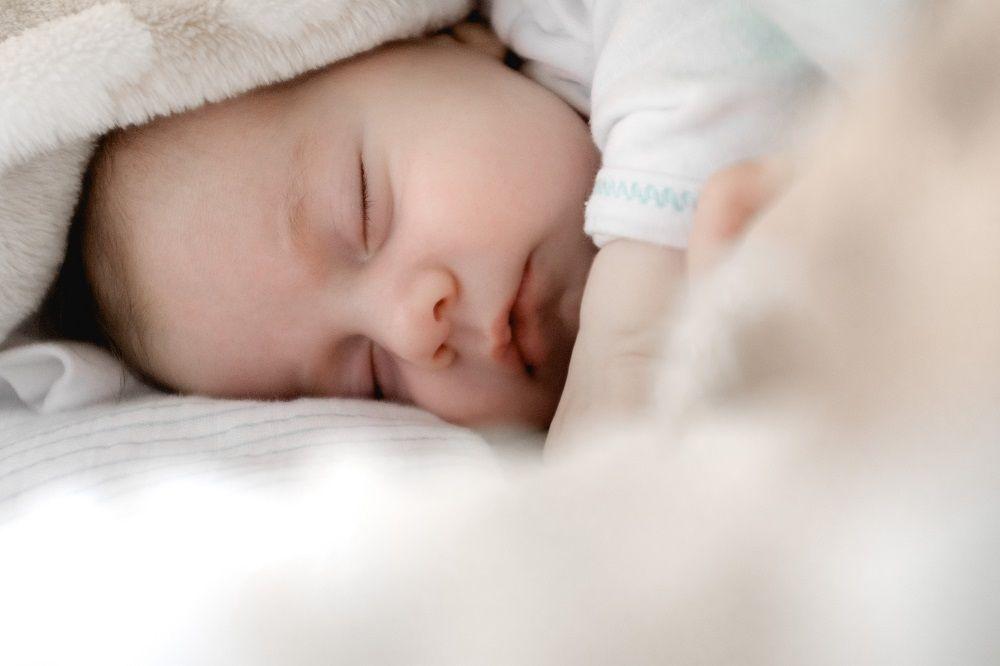 Foto de descanso del bebe