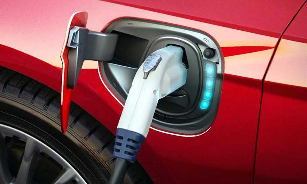 Fotografia Recarga de coche eléctrico