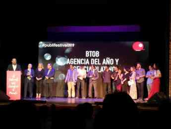 BTOB, agencia platino en el Publifestival 2019