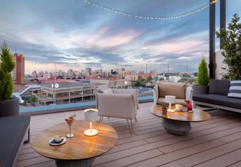 Sky Lounge del hotel Barceló Imagine