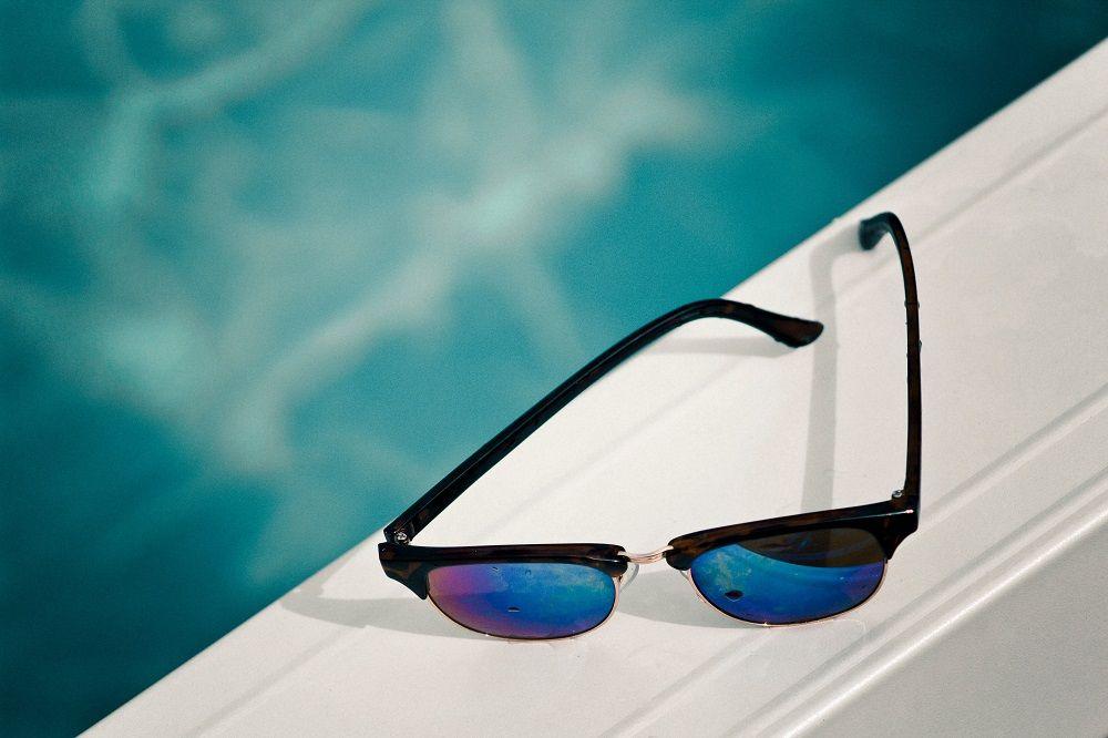 Foto de gafas de sol polarizadas