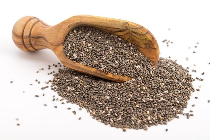 Foto de Semillas de chía, fuente natural de salud