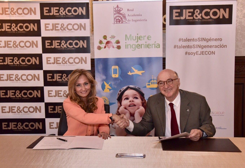 Foto de EJE&CON se une al proyecto Mujer e Ingeniería desarrollado