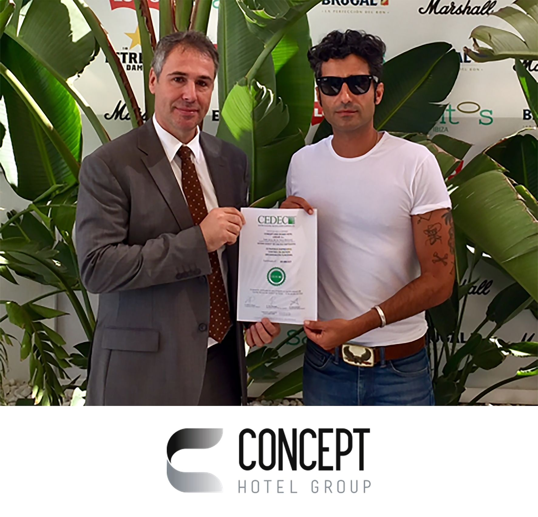 Concept and Design Hotel Group obtiene el sello de norma de calidad empresarial de CEDEC