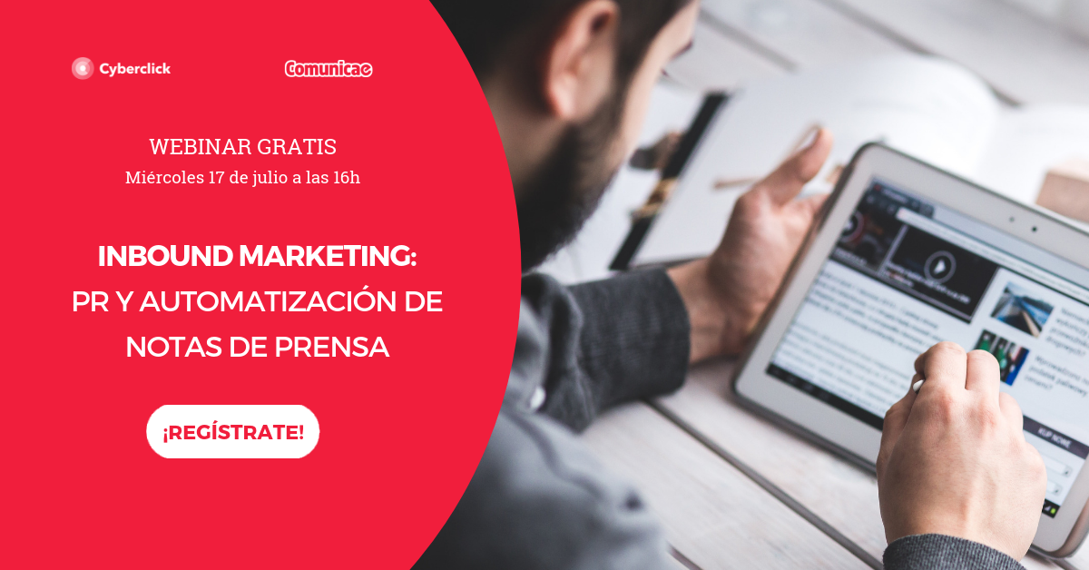 Foto de Webinar Inbound Marketing y PR