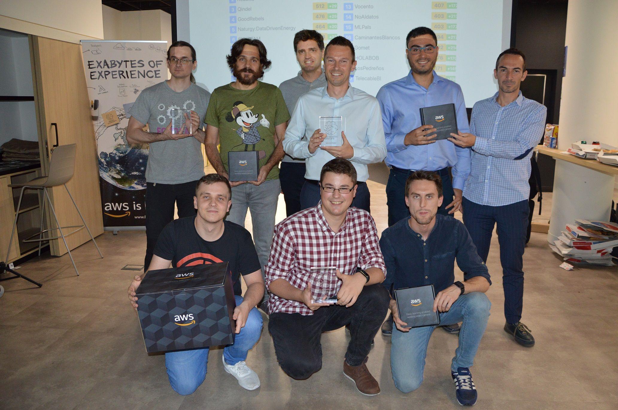 Foto de El equipo de desarrollo tecnológico de Aiwin gana el AWS