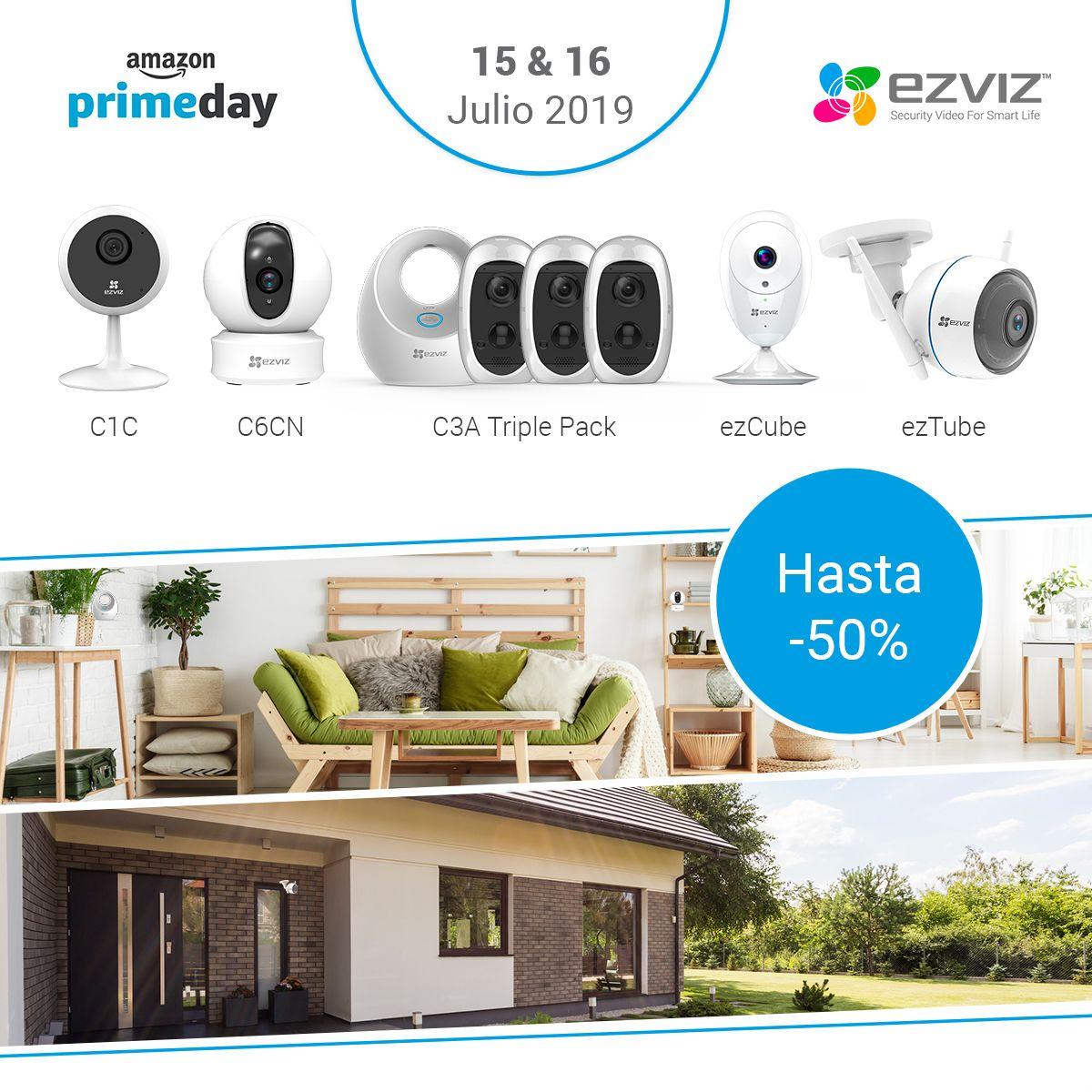 EZVIZ, referente en seguridad para el hogar, lanza grandes descuentos durante los Amazon Prime Days