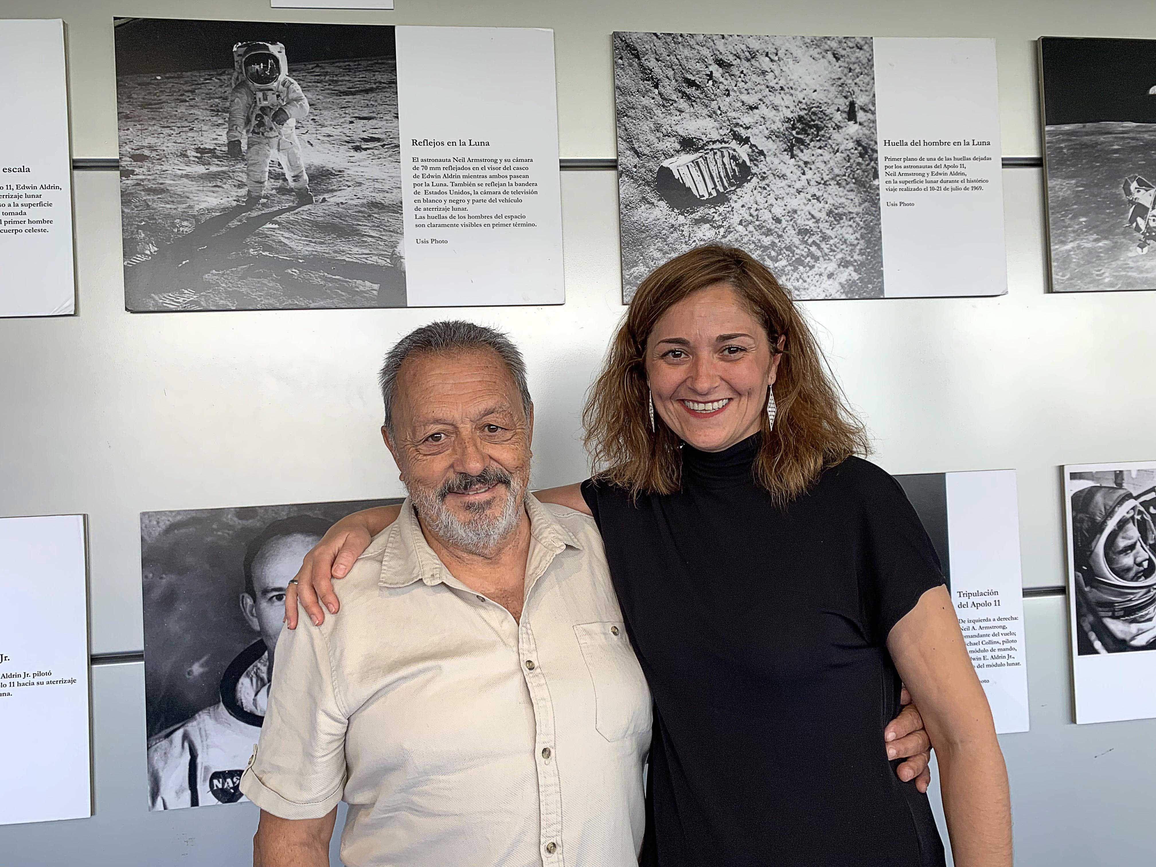 Foto de Carlos González y Laura Rocha