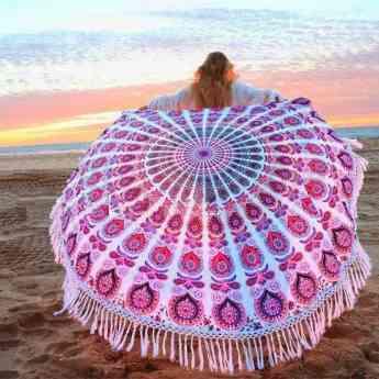 Toallas a la moda para ir a la playa